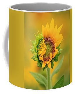 Opening Sunflower Coffee Mug