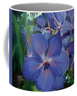 Orchids Coffee Mug by Donna Tuten