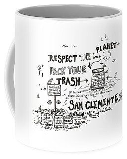 Pack Your Trash Coffee Mug