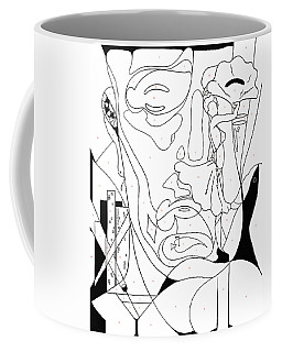 Paint By Number Las Vegas Coffee Mug