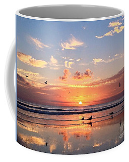 Coffee Mug featuring the photograph Painted Sky by LeeAnn Kendall