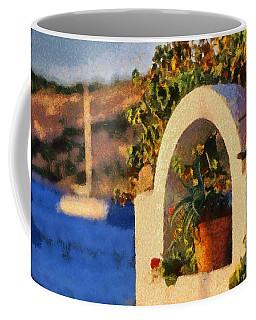 Agia Marina Town  Coffee Mug