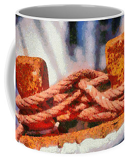 Fishing Boat Details Coffee Mug