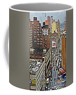 Coffee Mug featuring the photograph Park N Lock by Lilliana Mendez