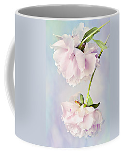 Pastel Peonies Coffee Mug