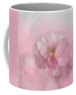Coffee Mug featuring the photograph Pink Blossom by Annie Snel