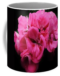 Pink Geranium Coffee Mug by Bruce Bley