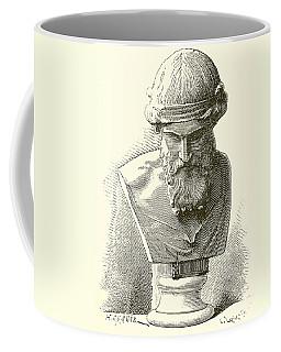 Greece Drawings Coffee Mugs