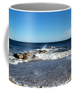Coffee Mug featuring the photograph Plum Island Landscape by Eunice Miller