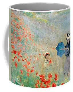 Poppies At Argenteuil Coffee Mug