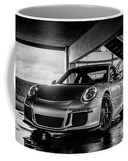 Coffee Mug featuring the digital art Porsche 911 Gt3 by Douglas Pittman