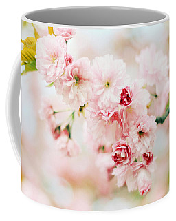 Pretty In Pink Coffee Mug by Jessica Jenney