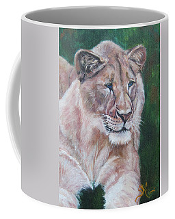 Queen Of The Beast,lioness Coffee Mug