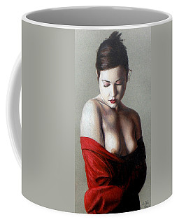 Coffee Mug featuring the painting Rebecca by Joseph Ogle