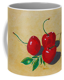 Red Cherries Coffee Mug