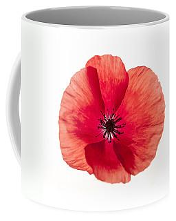 Red Poppy Flower Coffee Mug