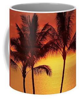 Red Sunset. Coffee Mug