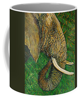 Coffee Mug featuring the painting Respect by Debbie Chamberlin