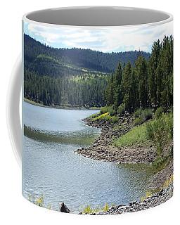 River Reservoir Coffee Mug by Pamela Walrath