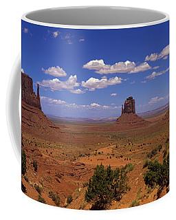 Rock Formations In A Desert Coffee Mug