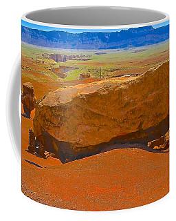 Rock Orange Coffee Mug by Jim Hogg