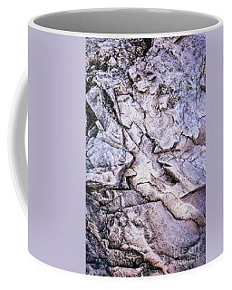 Rocks At Georgian Bay Coffee Mug