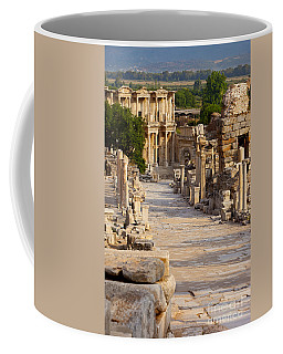Coffee Mug featuring the photograph Ruins Of Ephesus by Brian Jannsen
