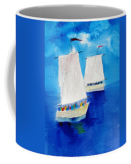 2 Sailboats Coffee Mug