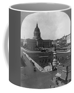 Coffee Mug featuring the photograph San Francisco City Hall by Granger