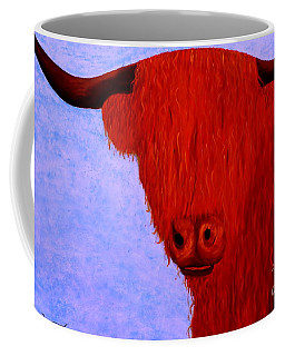 Scottish Highlands Cow Coffee Mug by Tim Townsend