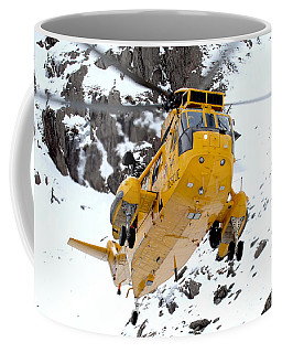 Seaking Helicopter Coffee Mug by Paul Fearn
