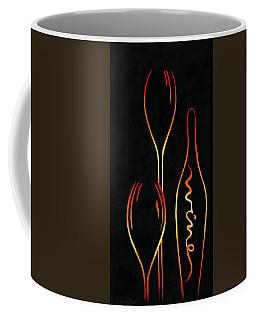 Simply Wine Coffee Mug by Sandi Whetzel