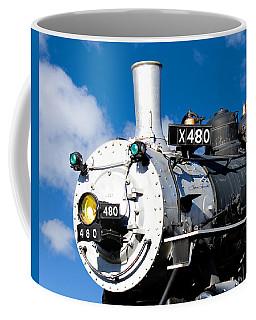 Smiling Locomotive Coffee Mug