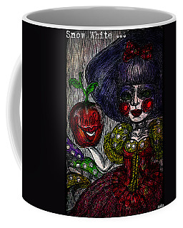 Snow White Coffee Mug by Akiko Okabe