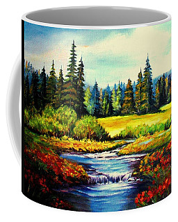Springtime Coffee Mug by Hazel Holland