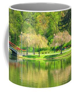 Springtime Reflections Coffee Mug