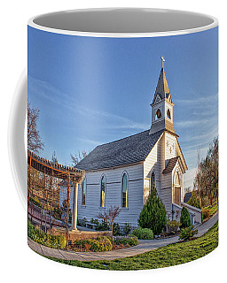 Coffee Mug featuring the photograph St. Mary's Chapel by Jim Thompson
