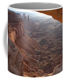 Sunrise Mesa Arch Canyonlands National Park Coffee Mug