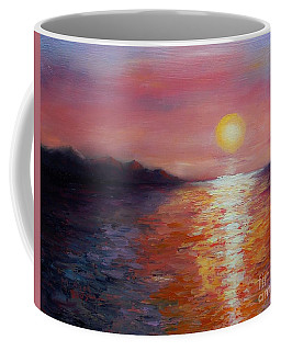Sunset In Ixtapa Coffee Mug