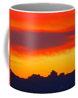 Sunset In The Black Mountains Coffee Mug