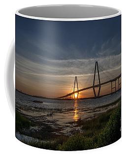 Sunset Over The Bridge Coffee Mug