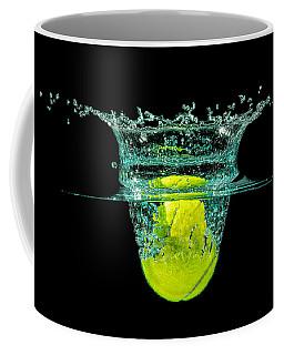 Tennis Ball Coffee Mug by Peter Lakomy