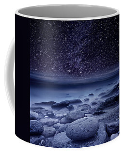 Coffee Mug featuring the photograph The Cosmos by Jorge Maia