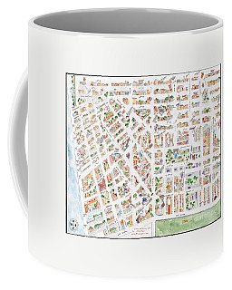 The Greenwich Village Map Coffee Mug