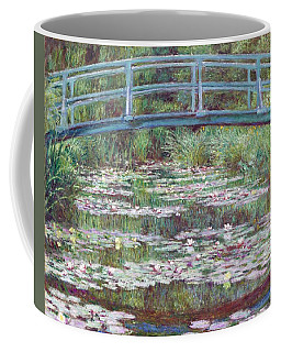 The Japanese Footbridge Coffee Mug by Claude Monet
