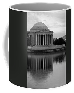 Coffee Mug featuring the photograph The Jefferson Memorial by Cora Wandel