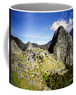 Coffee Mug featuring the photograph The Lost City by Suzanne Luft