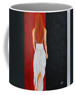 The Mystery Woman Coffee Mug
