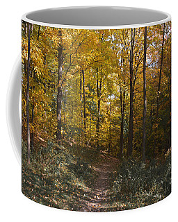 Coffee Mug featuring the photograph The Path by William Norton