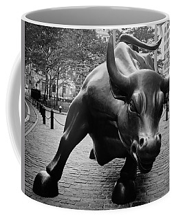 The Wall Street Bull Coffee Mug